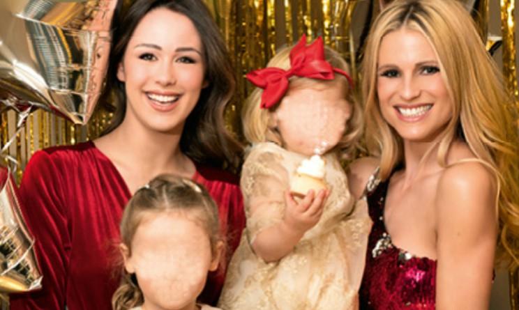 Michelle Hunziker e le tre figlie