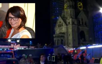Attentato Berlino, Sulmona: l'ultimo saluto a Fabrizia Di Lorenzo