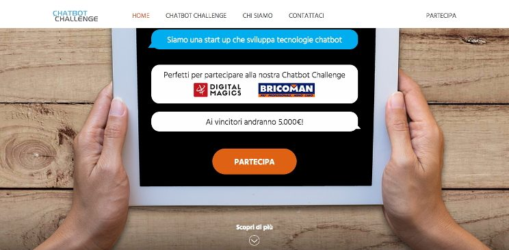 bando startup innovative chatbot challenge