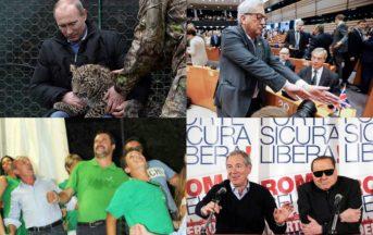 Cosa è successo nel 2016: dagli animali selvatici di Putin alla spesa dell'ex Premier, così 'Andiamo a Comandare' (FOTO)