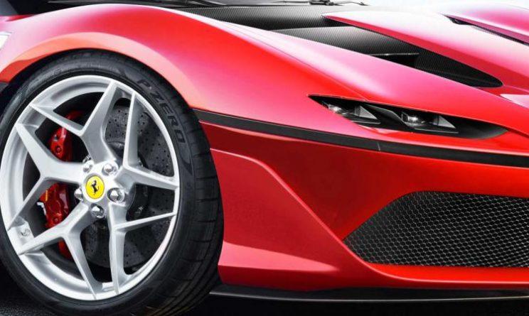 Ferrari J50: presentata in Giappone la nuova fuoriserie
