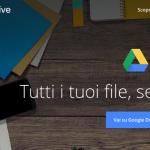aggiornamento google drive
