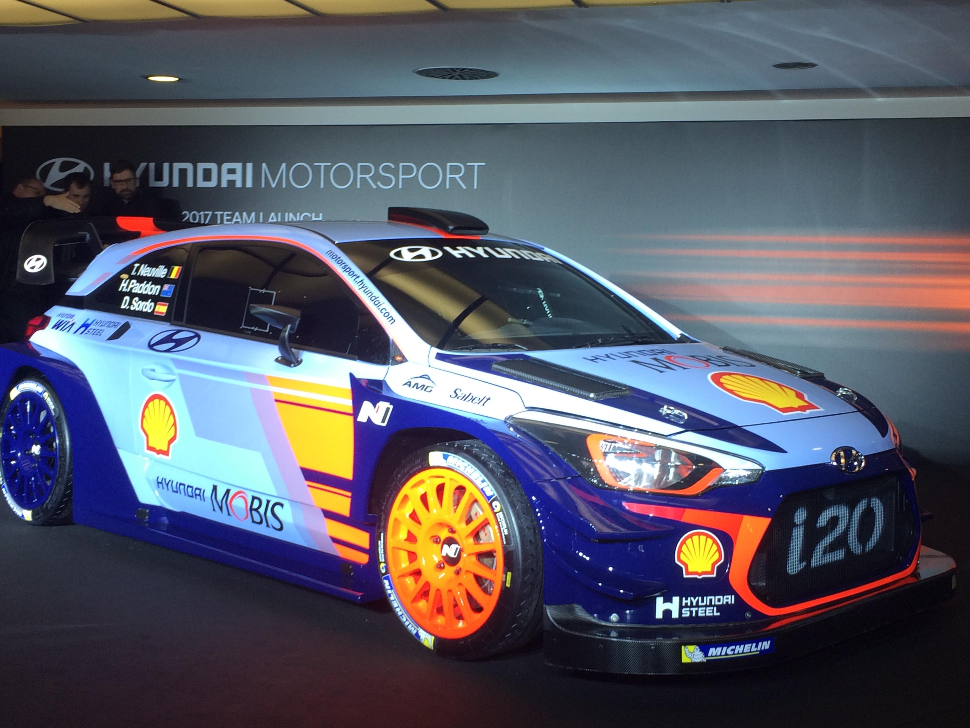 Creative Hyundai I20 WRC 2017 Caratteristiche Scheda Tecnica Debutto Al Monza Rally