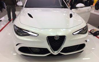Alfa Romeo Giulia Quadrifoglio prezzo e caratteristiche, foto e video dal MotorShow