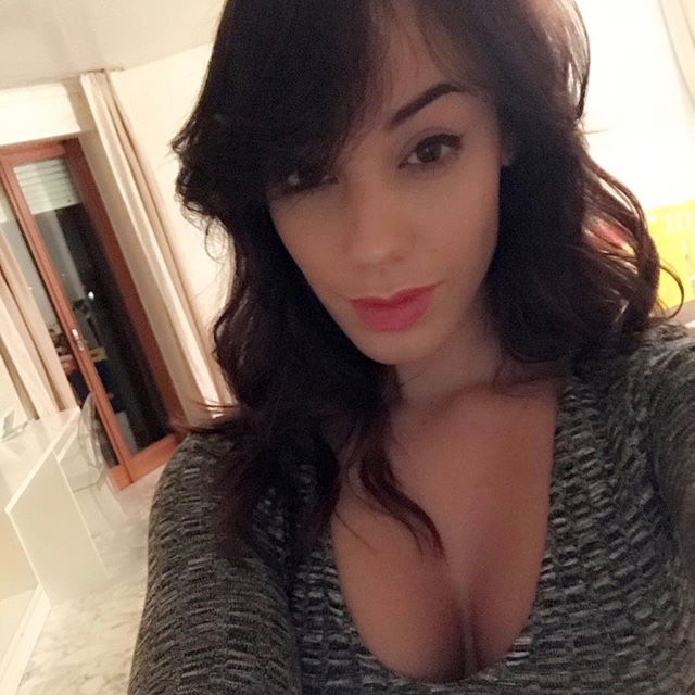 Medel moglie Cristina Morales