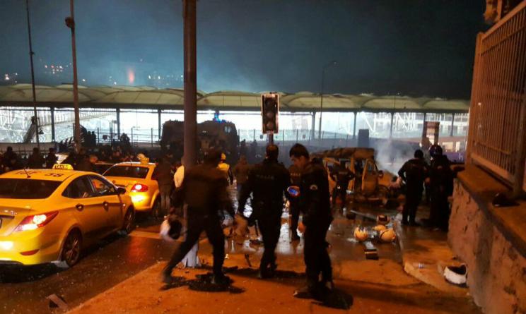 Istanbul Attacco terroristico