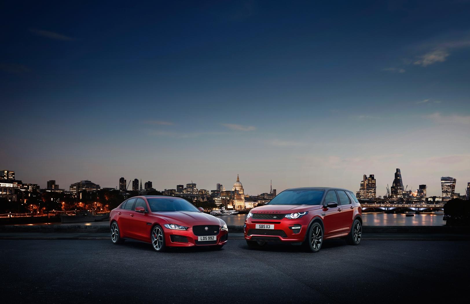 Jaguar Land Rover MotorShow 2016
