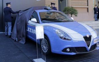 Polizia di Stato, Nuova Alfa Romeo Giulia Veloce e Jeep Renegade: caratteristiche e foto