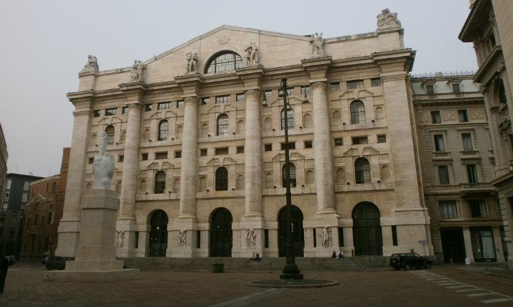 Piazza Affari chiude in forte rialzo su effetto BCE