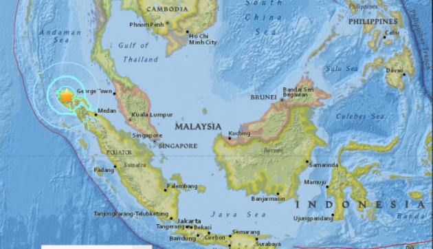 TERREMOTO OGGI INDONESIA SUMATRA