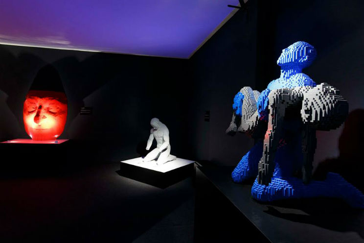 mostra lego roma the art of the brick