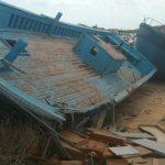 Uganda barca affondata