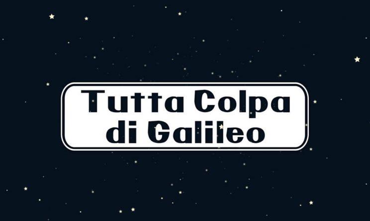 Tutta colpa di galileo quando inizia il ritorno in tv di for Galileo quiz casa