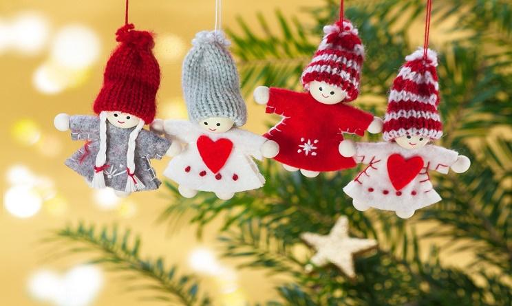 Conosciuto Natale 2016 decorazioni fai da te: addobbi creativi e semplici per  RU73