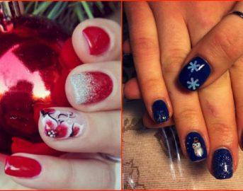 Unghie natalizie gel 2016 immagini: idee nail art facili e veloci da realizzare per le feste