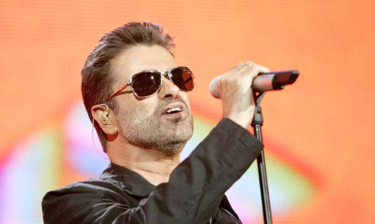 infarto george michael