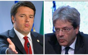 Dal governo Renzi al governo Gentiloni: molto rumore per nulla