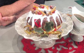La Prova del Cuoco ricette dolci oggi, 20 dicembre 2016: pudding natalizio di Roberto Valbuzzi