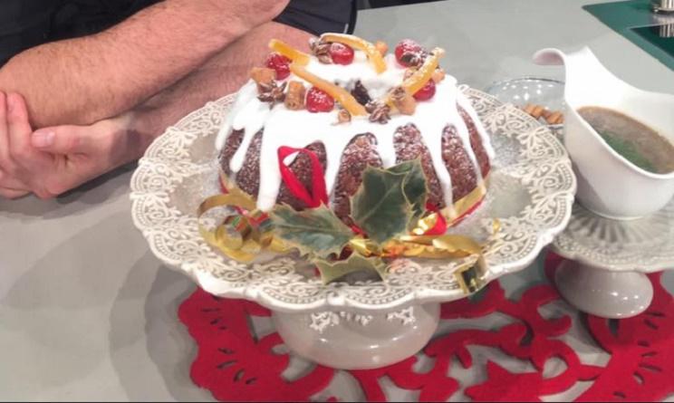 la prova del cuoco oggi, la prova del cuoco ricette dolci, la prova del cuoco 20 dicembre 2016, la prova del cuoco ricetta pudding natalizio roberto valbuzzi, pudding natalizio roberto valbuzzi,