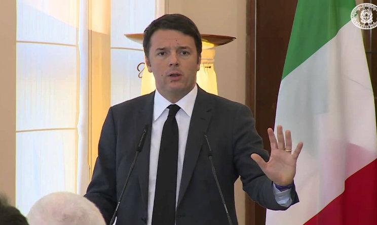 Assemblea PD, Matteo Renzi