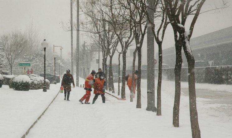 AMSA offre lavoro a spalatori di neve