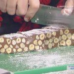 la prova del cuoco oggi, la prova del cuoco ricette dolci, la prova del cuoco ricette 13 dicembre 2016, la prova del cuoco ricetta torrone morbido al cioccolato daniele persegani, torrone morbido al cioccolato daniele persegani,