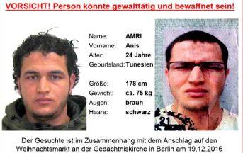 Attentato Berlino news, Anis Amri: chi è il jihadista tunisino più ricercato d'Europa