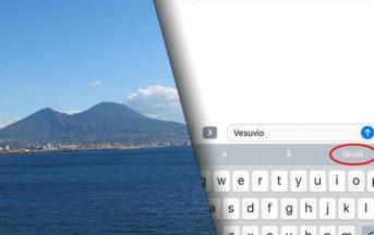 """iPhone vs Vesuvio: il melafonino suggerisce """"lavali col fuoco"""", ecco cos'è successo"""