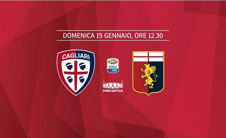 Cagliari Genoa probabili formazioni