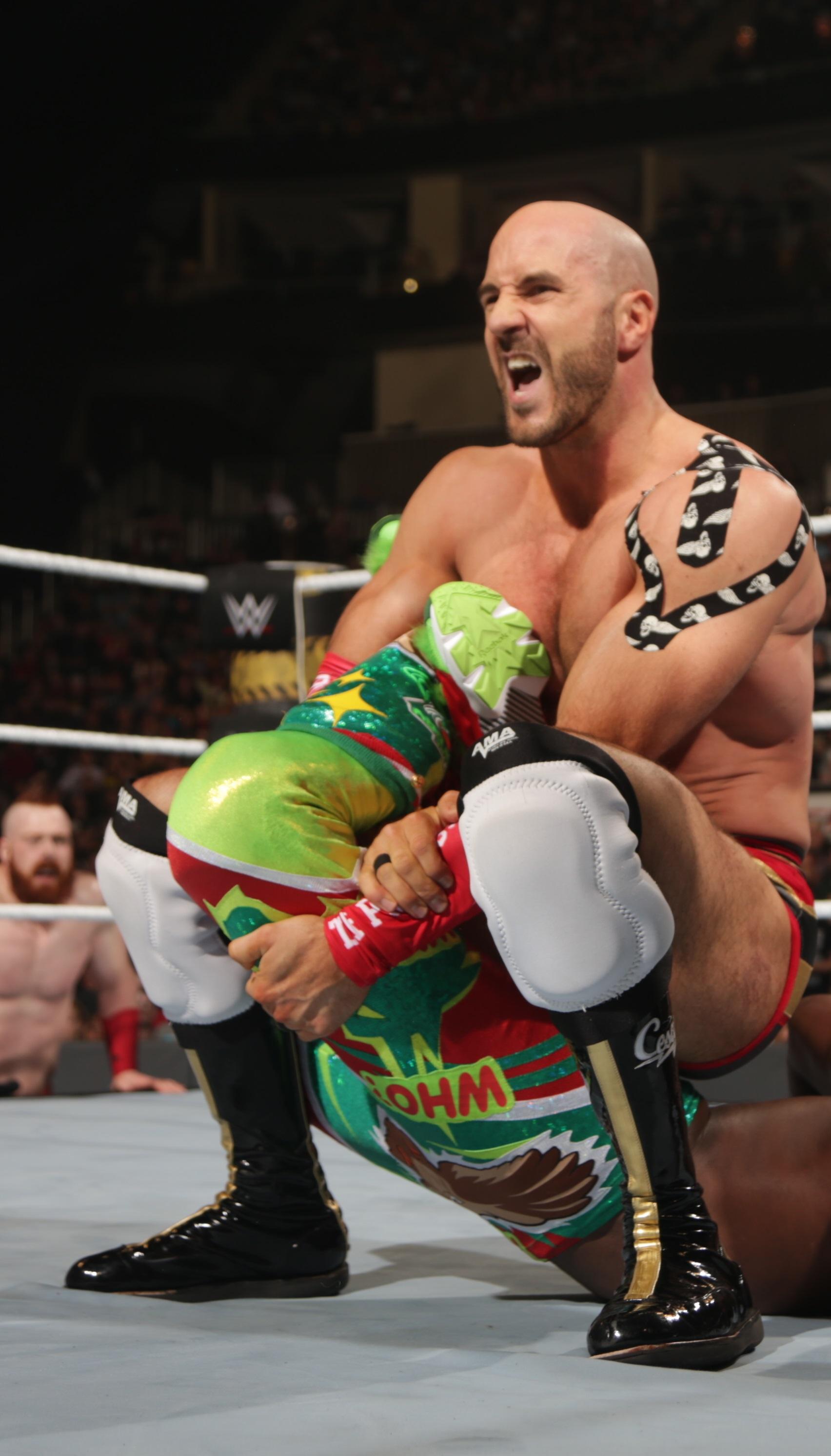 cesaro wwe wrestling
