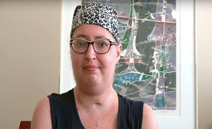 Fibrosi cistica Melissa Benoit vive sei giorni senza polmoni