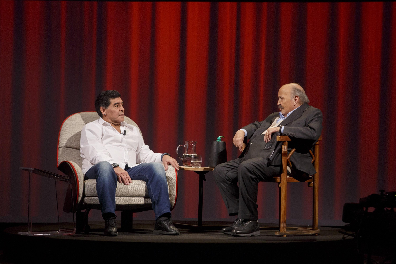 Diego Armando Maradona a L'intervista