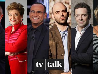 Tv Talk ospiti oggi 14 gennaio 2017: Roberto Saviano e Carlo Conti