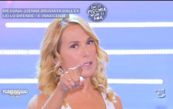 """Caso Ylenia, Barbara D'Urso risponde in diretta a Selvaggia Lucarelli: """"Mia frase decontestualizzata"""""""