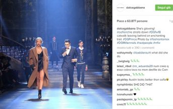 Fashion Week Milano 2017, Dolce & Gabbana sfilata: da Sophia Stallone a Austine Malone, ecco i Millennials protagonisti