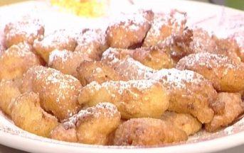 La Prova del Cuoco ricette dolci oggi, 25 gennaio 2017: frittelle di riso di Anna Moroni
