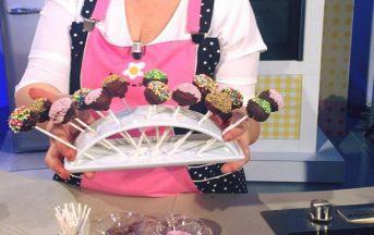 La Prova del Cuoco ricette dolci, 9 gennaio 2017: montagna golosa di Natalia Cattelani