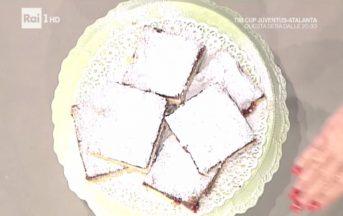 La Prova del Cuoco ricette dolci, 11 gennaio 2017: torta slava di Anna Moroni