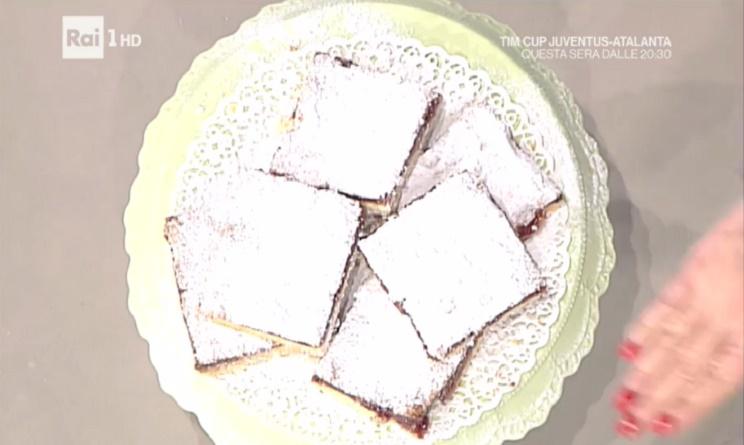 la prova del cuoco ricette 11 gennaio 2017, la prova del cuoco oggi, la prova del cuoco oggi anna moroni, la prova del cuoco ricette oggi, la prova del cuoco ricette anna moroni, la prova del cuoco torta slava, torta slava ricetta anna moroni,