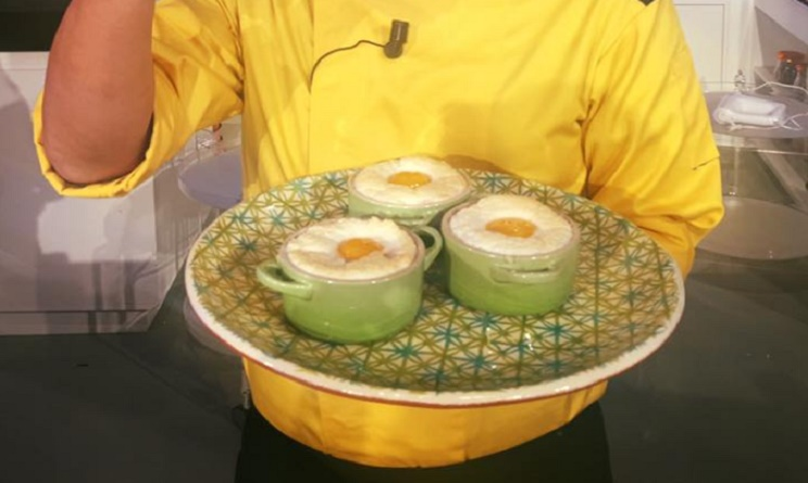 la prova del cuoco ricette 12 gennaio 2017, la prova del cuoco oggi, la prova del cuoco ricette oggi, la prova del cuoco uova in cocotte, uova in cocotte hirohiko shoda