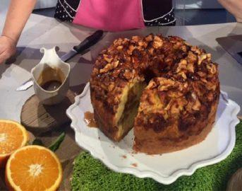 La Prova del Cuoco ricette dolci oggi, 16 gennaio 2017: torta alta di mele di Natalia Cattelani