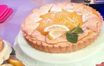 La Prova del Cuoco ricette dolci, 23 gennaio 2017: torta al limone di Natalia Cattelani