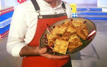 La Prova del Cuoco ricette oggi, 10 gennaio 2017: sfoglia croccante cardi e prosciutto di Sergio Barzetti
