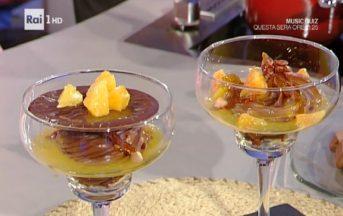 La Prova del Cuoco ricette dolci oggi, 13 gennaio 2017: coppa gianduia e arancia di Guido Castagna