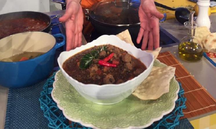 la prova del cuoco ricette, la prova del cuoco oggi, la prova del cuoco ricette oggi, la prova del cuoco 27 gennaio 2017, la prova del cuoco polpette e lenticchie, polpette e lenticchie ricetta luisanna messeri