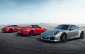 Porsche 911 GTS modelli 2017 prezzo, caratteristiche e scheda tecnica, data uscita [FOTO]