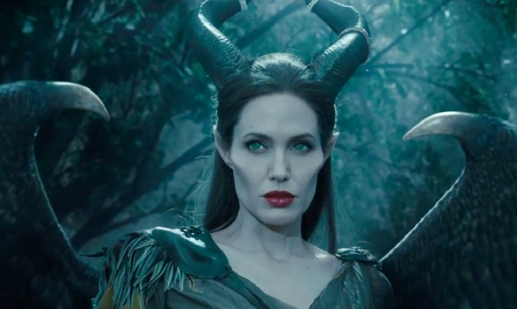 Maleficent con Angelina Jolie