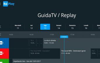 RaiPlay app smartphone, tablet, pc: come guardare diretta streaming e repliche dei programmi tv