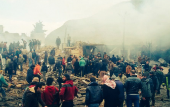Attentato Siria oggi, autobomba tra gli sfollati di Foua e Kafraya: ci sono morti e feriti