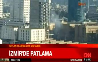 Autobomba in Turchia, esplosione davanti tribunale Smirne: terrorista in fuga